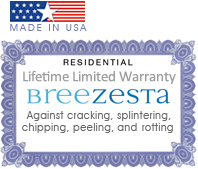Made in USA Lifetime Warranty